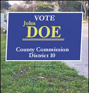 photo - political sign