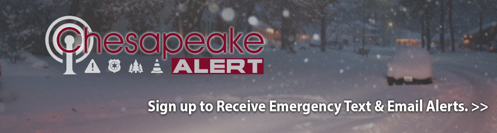 Sign up for Chesapeake Alert