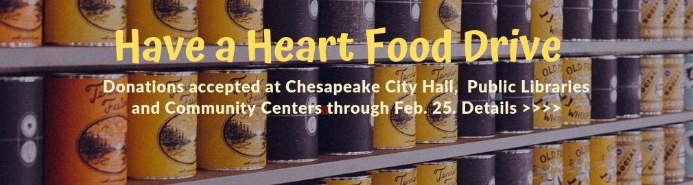 Have a Heart Food Drive through Feb. 25