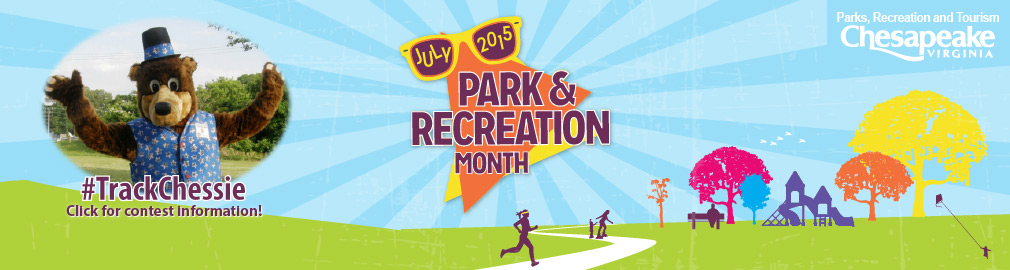2015 July is Park and Recreation Month - Track Chessie Photo Contest - Click for details!