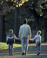 Foster Parent with boys