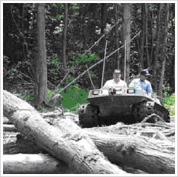 Mosquito Control using an ATV/Argo photograph