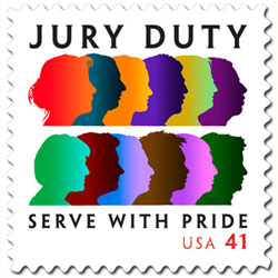 """Jury Duty"" - U.S. Postage Stamp - 2007 41 cents"