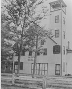 Image of the first fire station in South Norfolk