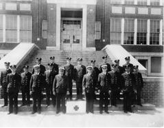 South Norfolk Fire Department in 1935