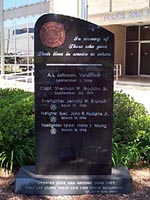 photo - Firefighers  Memorial