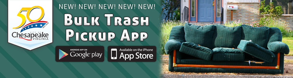 NEW! Bulk Trash Pickup App