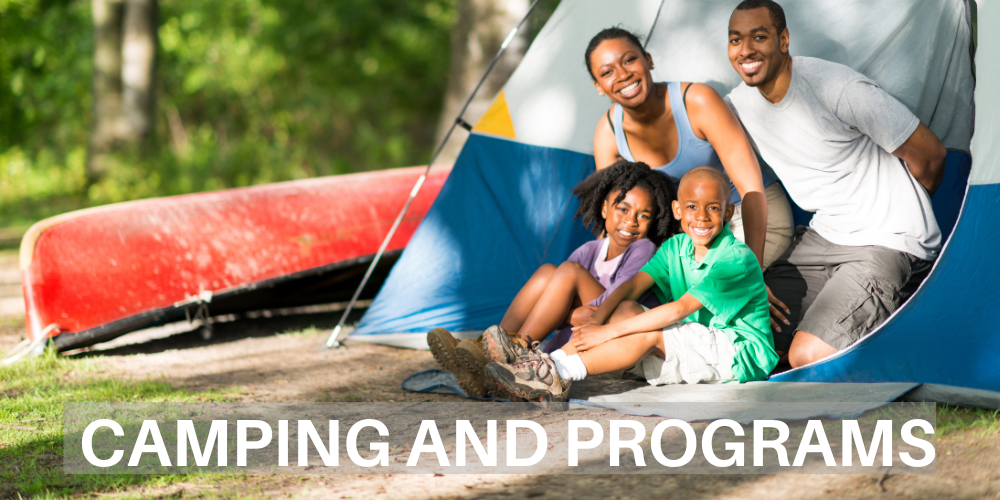 Camping and Programs Icon