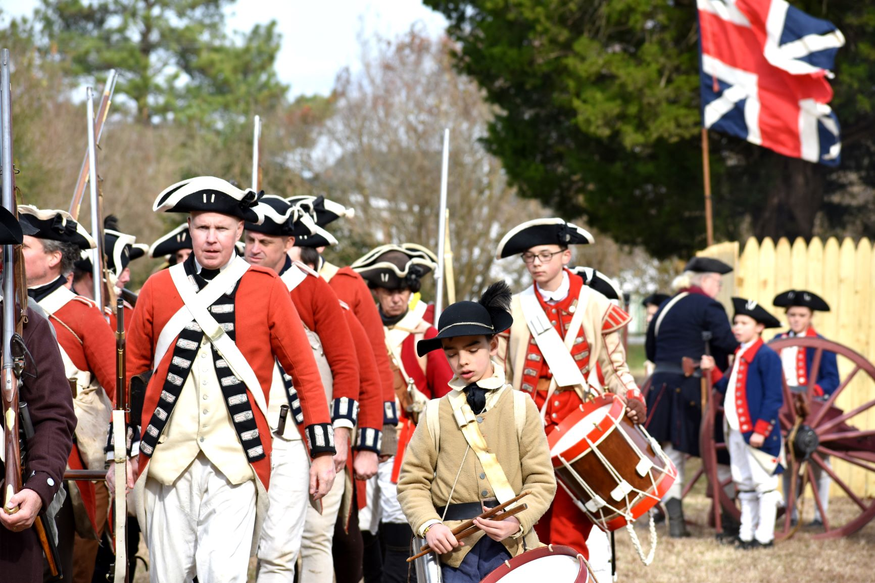Battle of GB Redcoats