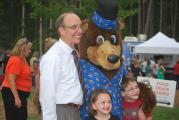 Mayor Krasnoff and Chessie