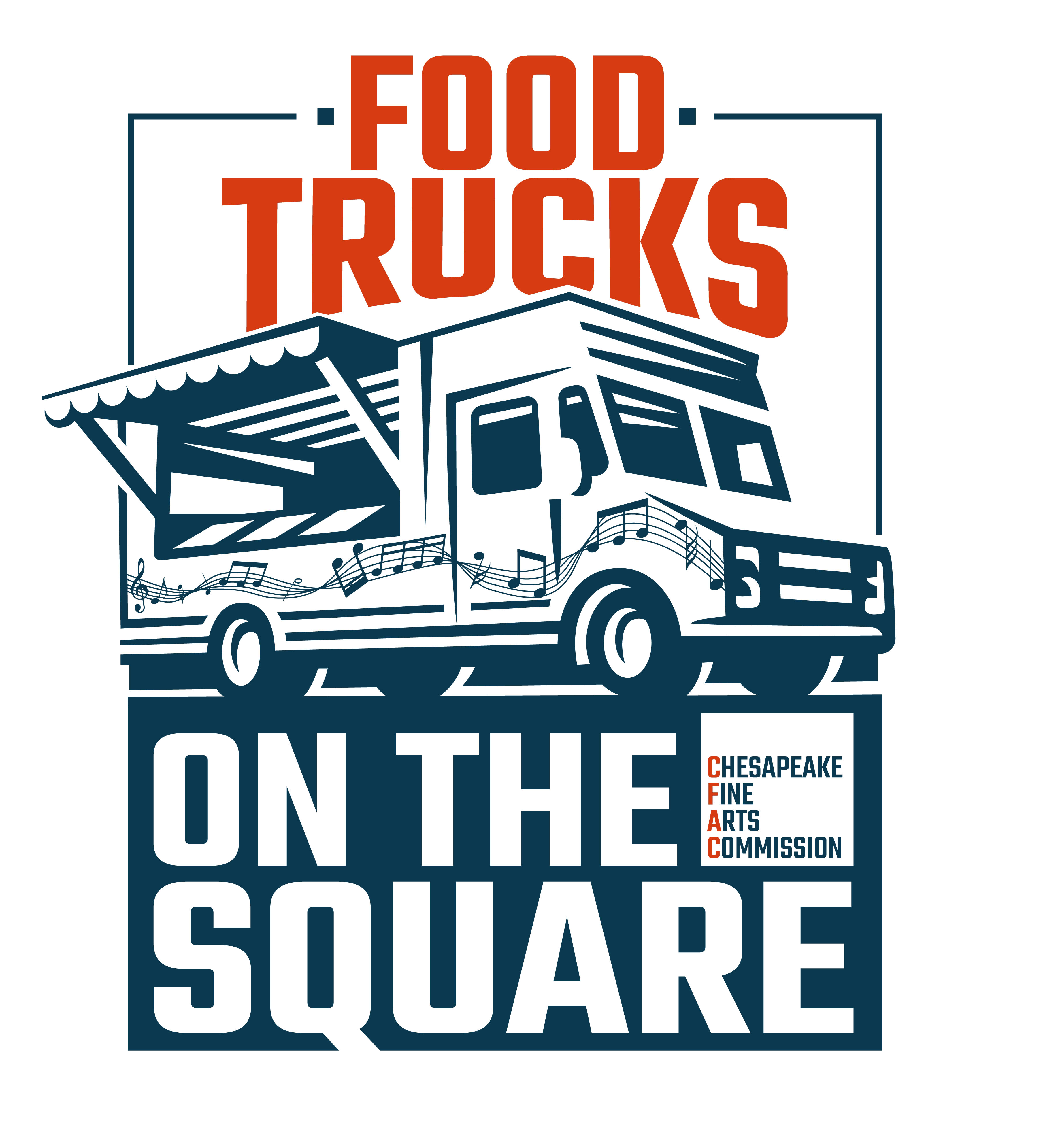 Food Trucks on the Square New Logo