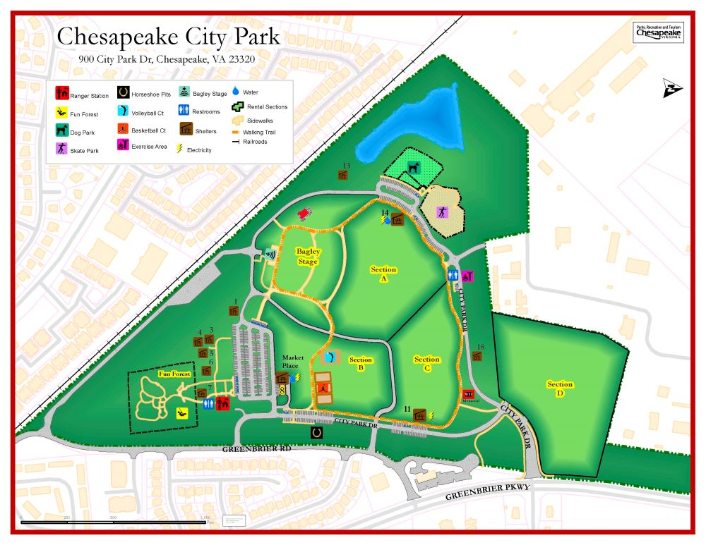 Chesapeake City Park Dog Park