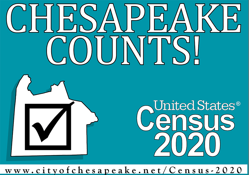 Census 2020 Chesapeake Logo