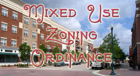 Mixed Use Ordinance - graphic title