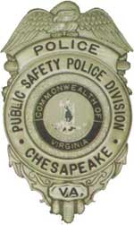 Chesapeake Public Safety Division Badge