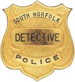 South Norfolk Detective Shield