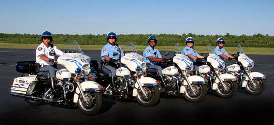 Chesapeake Motorcycle Officers - photograph