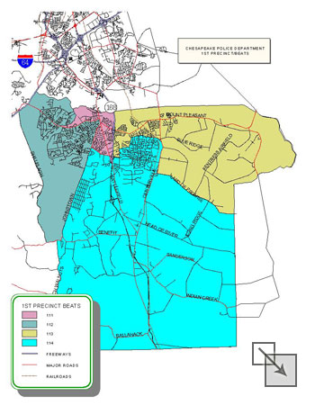 First Precinct Map - click for larger