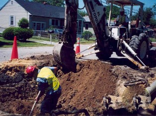 Installing Water Lines