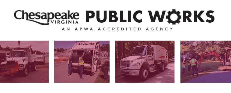 Photo collage for Public Works homepage