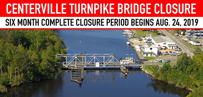 Centerville Turnpike Bridge Closure Page Header
