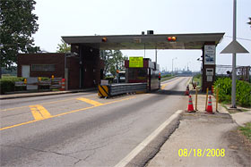 Jordan Bridge toll booth