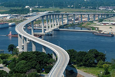 The NEW South Norfolk Jordan Bridge - photo by Bryan Barbee