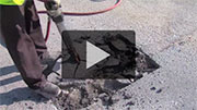 Pothole Repairs Video - Opens in a new window.