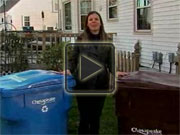 Trash vs. Recycle video