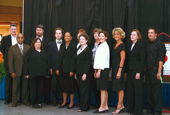 The Blue Heron Selection Committee - taken at the unveiling on September 7, 2006 at Greenbrier Mall in Chesapeake, VA