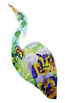 'Pansy' design by Carolyn Riley
