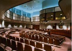 City council chambers - photograph