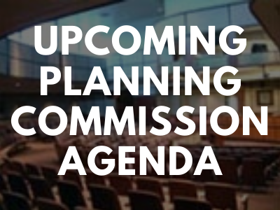 Upcoming and Live Planning Commission Meetings