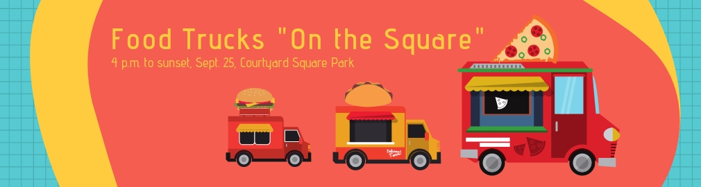 Food Trucks on the Square Banner