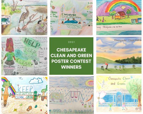 Clean and Green Poster Contest 2020 Winners