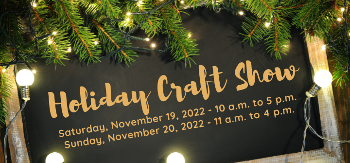 Holiday Craft Show Banner