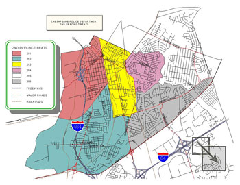 Second Precinct Map - click for larger