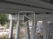Click to play video about bridge inspections