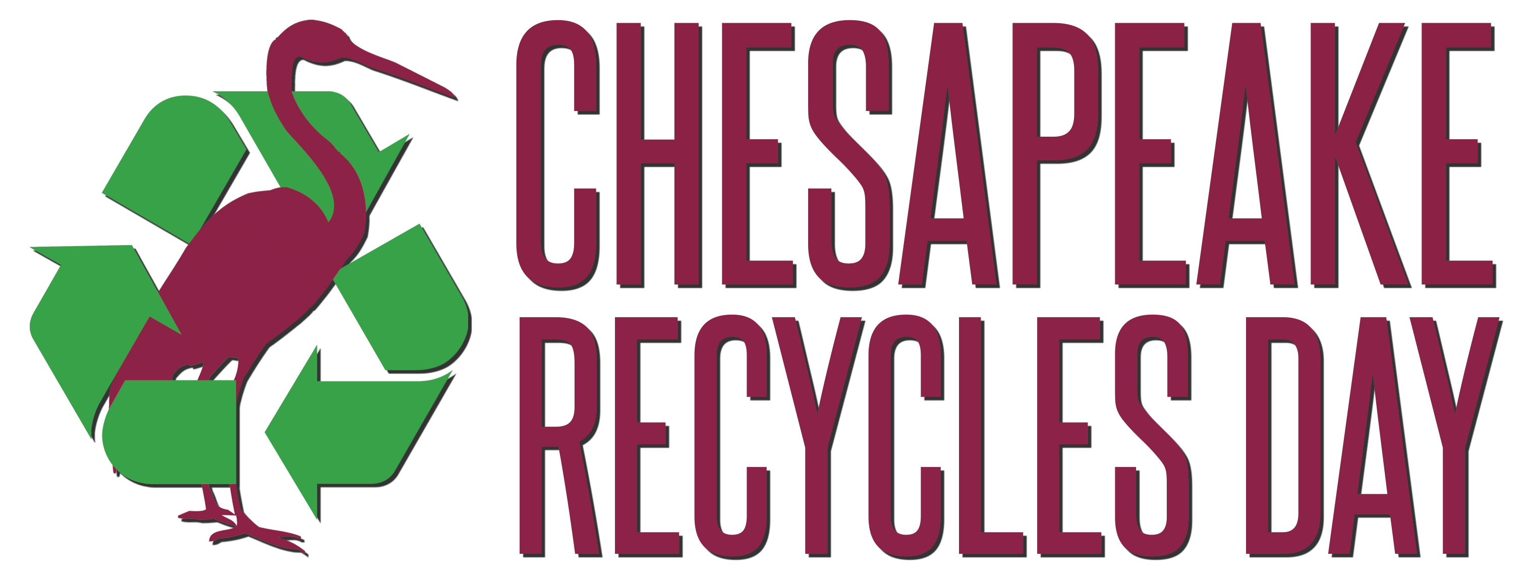 Chesapeake Recycles Day Logo Block