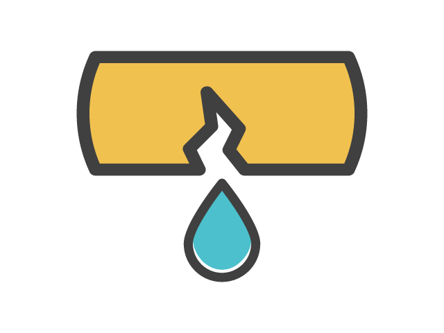 Broken Pipe  icons